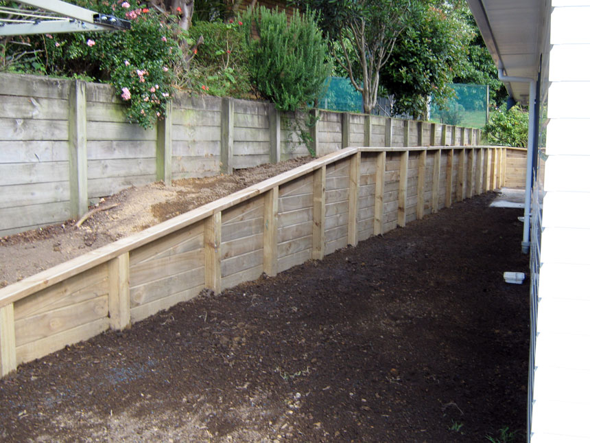 Retaining Wall Timber Nz Image Gallery HCPR